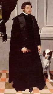 Il cardinale e principe vescovo di Trento Ludovico Mandruzzo, a cui Prè Lorenzo scrive nel 1587.
